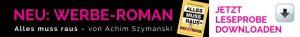 Werbe-Roman von Achim Szymanski