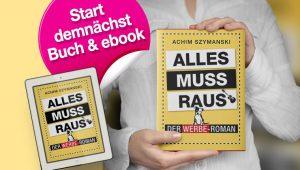 Werbe-Roman Cover als Buch und ebook