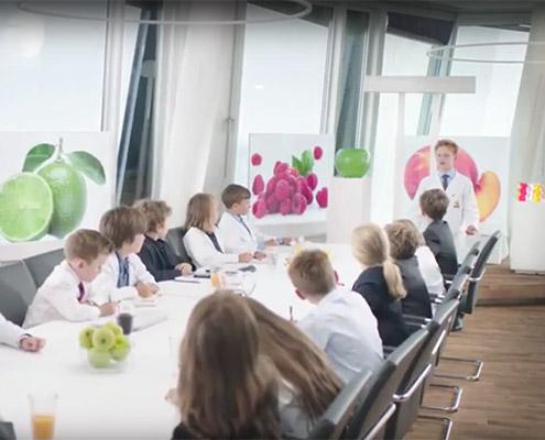 Haribo TV Spot für Saft Goldbären. Text & Konzept: AchimSzymanski