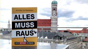 Der Werbe-Roman neben der Frauenkirche