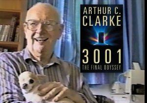 Der Sience Fiction Autor Arthur C. Clarke spricht über sich.