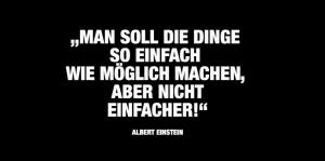 Einstein-Zitat-Gute Werbetexter