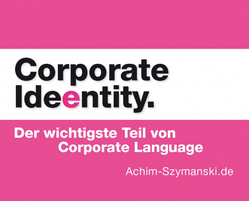 Ideen für Corporate Language