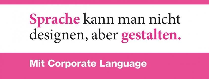 Corporate Language gestalten