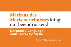Corporate Language - endlich professionell