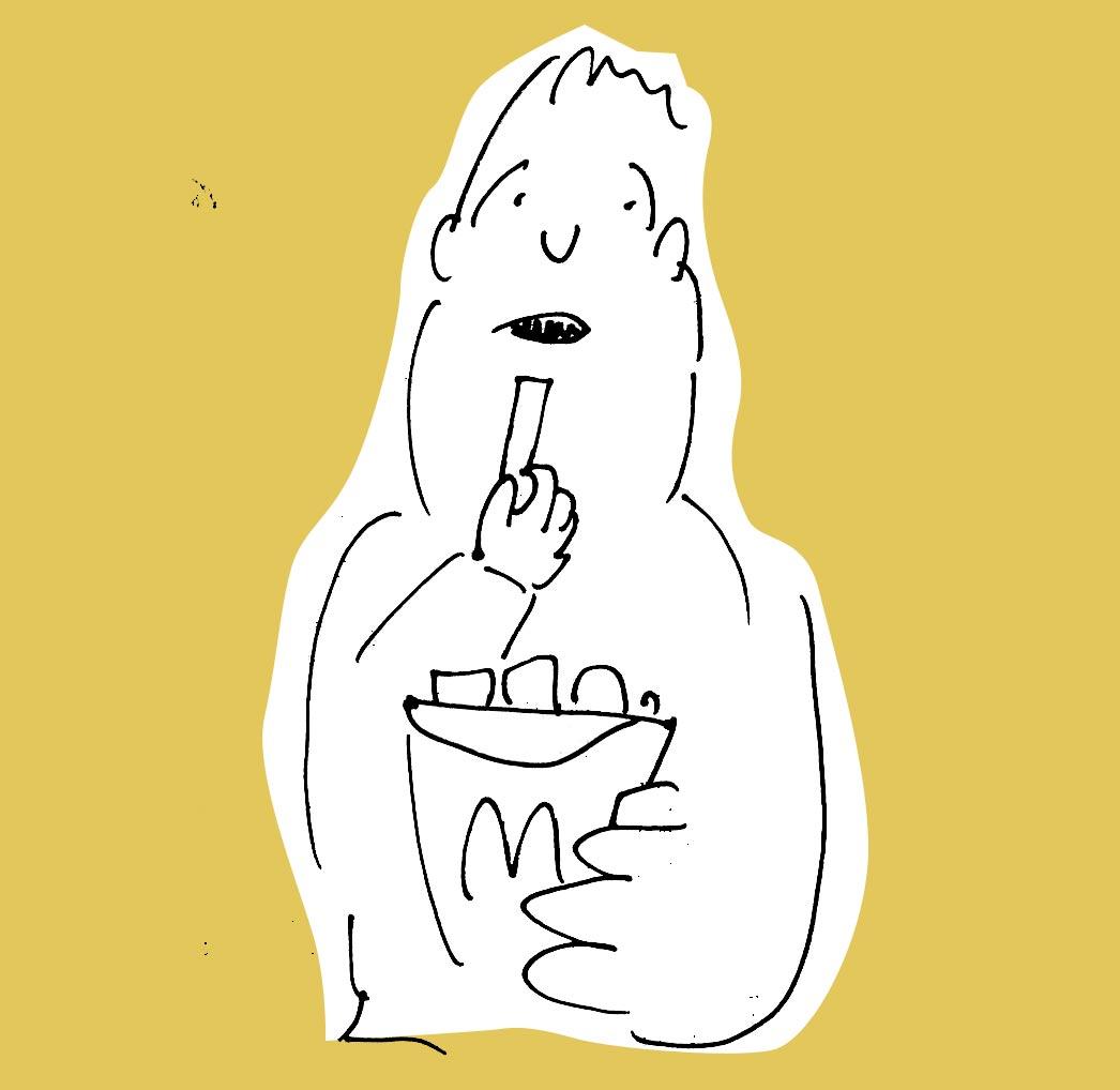 Illustration zum Blogartikel Corporate Language von McDonald's